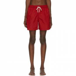 Polo Ralph Lauren Red Traveler Swim Shorts 710659017009
