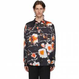 Black and Multicolor Floral Over Shirt Stolen Girlfriends Club C1-20241P