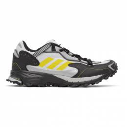 Adidas Originals White and Black Response Hoverturf GF6100A Sneakers FX4152
