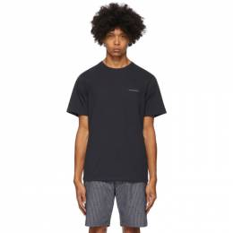 Saturdays Nyc Navy Leon T-Shirt M32029PT06
