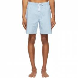 Saturdays Nyc Blue Richie Swim Shorts M32021RT01