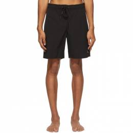 Saturdays Nyc Black Richie Swim Shorts M32021RT01