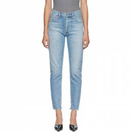 Citizens of Humanity Blue Liya Classic Fit Jeans 1577-1136