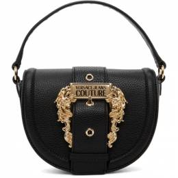 Versace Jeans Couture Black Round Buckle Bag EE1VZABF2 E71578
