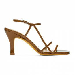 Brown Patent Irene Sandals 104 Maryam Nassir Zadeh