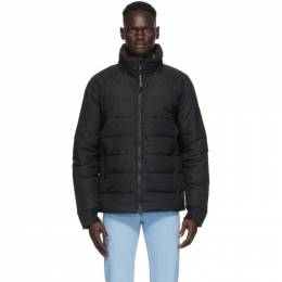 Canada Goose Black Down Hybridge Base Jacket 2741M
