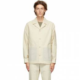 Norse Projects Beige Mads 60/40 Jacket N50-0164