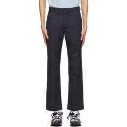 Norse Projects Navy Aaro 60/40 Fatigue Trousers N25-0320