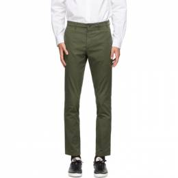 Norse Projects Green Slim Aros Trousers N25-0263