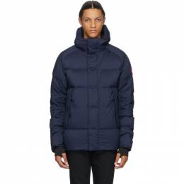 Canada Goose Navy Armstrong Hoody Jacket 5076M