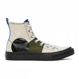 McQ Alexander McQueen Multicolor McQ Swallow Orbyt High Sneakers 621914R2693