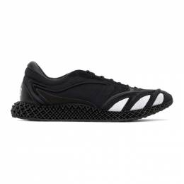Y-3 Black Runner 4D Sneakers FU9207