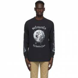 Vetements Black Motorhead Edition The World is Yours T-Shirt UAH21TR612