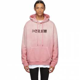 Ksubi Pink Sign of the Times Hoodie 5000005008