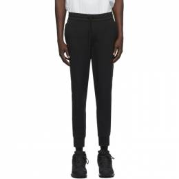 Y-3 Black Nylon Cuff Lounge Pants FN3385