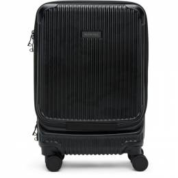 Black Trolley Carry-On Suitcase Master-Piece Co 505001-cm
