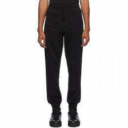 Dries Van Noten Black Zip Pockets Lounge Pants 21141-1606-900