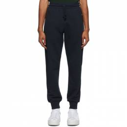Dries Van Noten Navy Zip Pockets Lounge Pants 21141-1606-509
