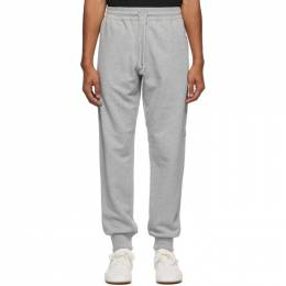 Dries Van Noten Grey Zip Pockets Lounge Pants 21141-1606-813