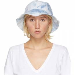 Rag & Bone Blue Ellis Bucket Hat WJW20P1027LO27-OASIS