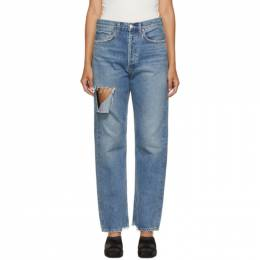 Agolde Blue 90s Mid Rise Jeans A069-1141