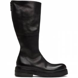 Marsell Black Zuccolona Zip-Up Boots MM2970