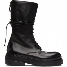 Marsell Black Zuccolona High Boots MM4111