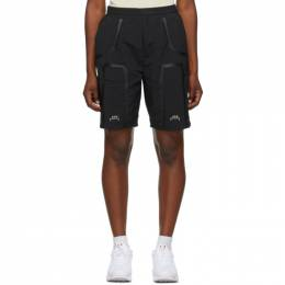 A-Cold-Wall Black Welded Track Shorts ACWMB001WHL