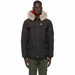 Parajumpers Black Down Right Hand Light Jacket PM JCK MG06