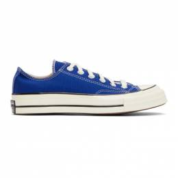 Converse Blue Seasonal Color Chuck 70 OX Sneakers 168514C