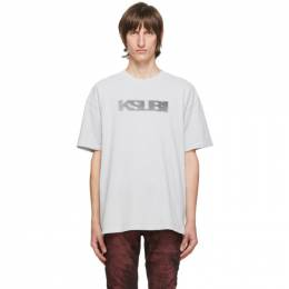 Ksubi Grey Sign Of The Times T-Shirt 5000005018