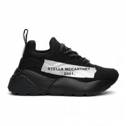 Stella Mccartney Black Canvas Eclypse Sneakers 800257N0169