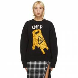Off-White Black Pascal Wet Floor Sweater OMHE054F20KNI0021018