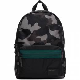 Diesel Black Camo Discover Me Backpack X06264P2289