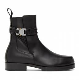 1017 Alyx 9Sm Black Buckle Chelsea Boots AAUBO0038LE01.F20