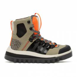 Adidas by Stella McCartney Beige Eulampis Ankle Boots FU8987