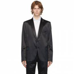 Paul Smith Navy Satin Soho Blazer M1R-1545-E01183