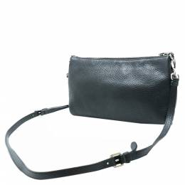 Prada Black Leather Shoulder Bag 318715