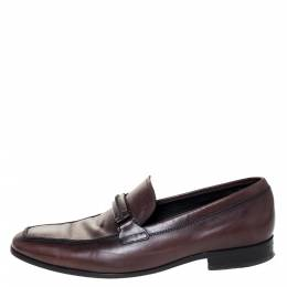 Tod's Brown Leather Gommino Loafers Size 41 309432