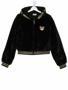 Moschino Kids худи с принтом Teddy Bear HDA005LIA02