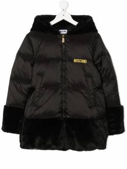 Moschino Kids пуховик Teddy Bear HDS02WL3A22