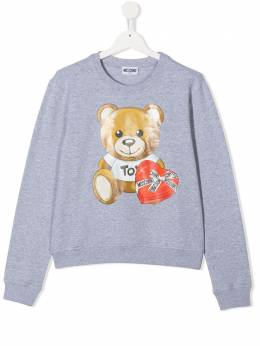 Moschino Kids толстовка Teddy Bear HDF02MLDA16M