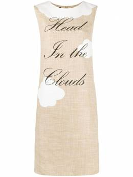 Boutique Moschino платье Head in the Clouds A04561116