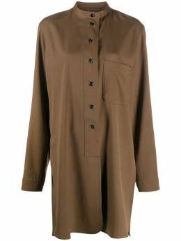 Lemaire extra-long band collar shirt W203SH260LF490