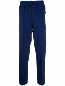 Moncler Grenoble tapered piped-trim track pants F20978H70140809JE