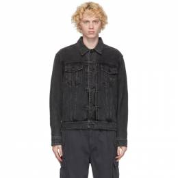 Juun.J Black Denim Jacket JC0839PD1
