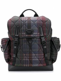 Mulberry heritage r-design check quilted backpack HP5161320