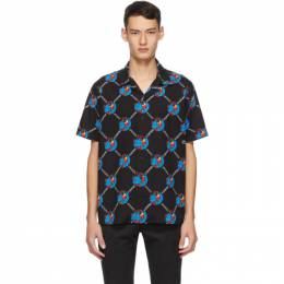 Lacoste Black Chinatown Market Edition Globe Shirt CH0117-52