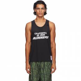 Black Race Singlet Tank Top 4000 Satisfy