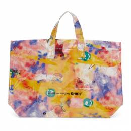 Comme des Garcons Shirt Pink Large Futura Edition Tote Bag W28610